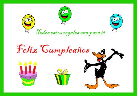 felicitaciones de cumpleaños con lucas