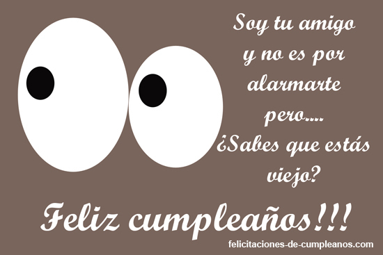 Felicitaciones De Cumpleanos Graciosas Elige La Que Te Gusta - Tarjeta-felicitacion-cumpleaos-original