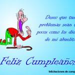 felicitar cumpleaños con humor