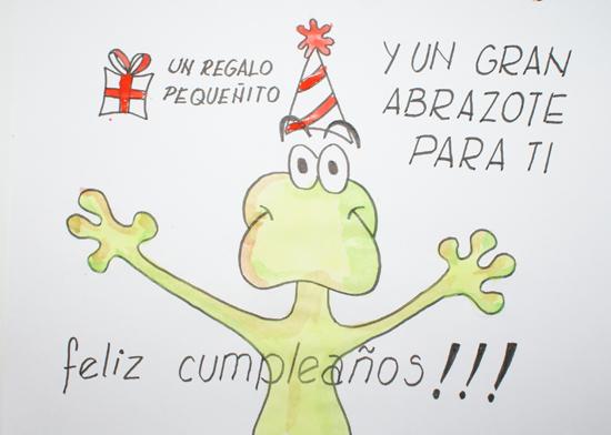 saludar a cumpleaños