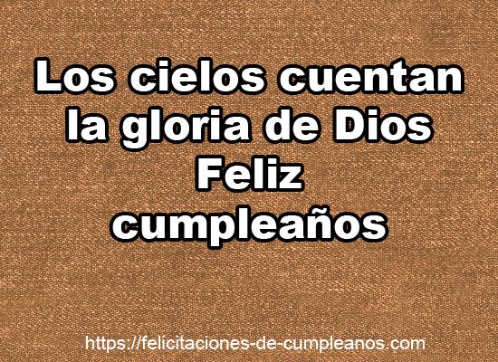 Frases Cristianas Felicitaciones De Cumpleaños Cristianas