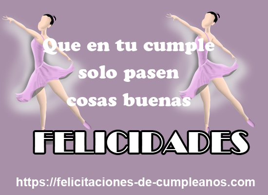 bailarina por whatsapp