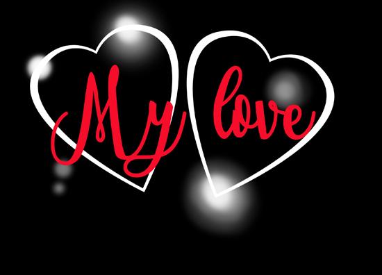 con frases de amor